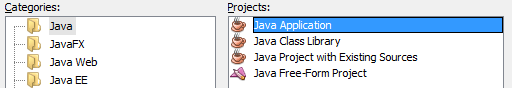 Netbeans Java Application